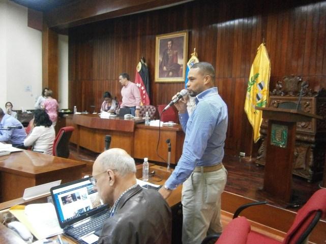 Concejal del estado Sucre Edmundo Rada