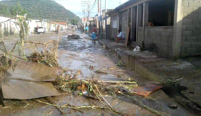 Foto: Al menos 400 familias afectadas por lluvias en Puerto Cabello / el-carabobeno.com