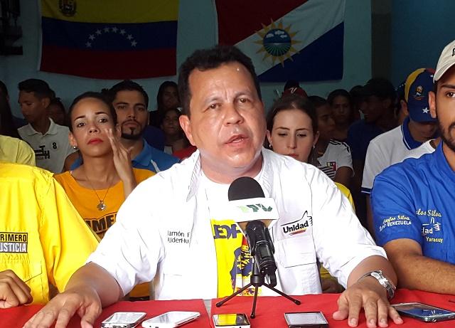 Ramón Flores, diputado por Yaracuy // Foto Prensa