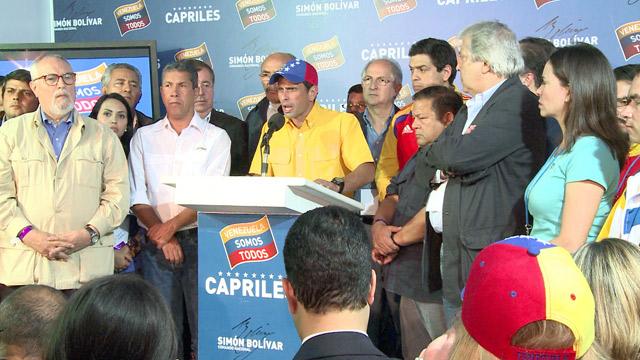 Capriles: Maduro es el derrotado