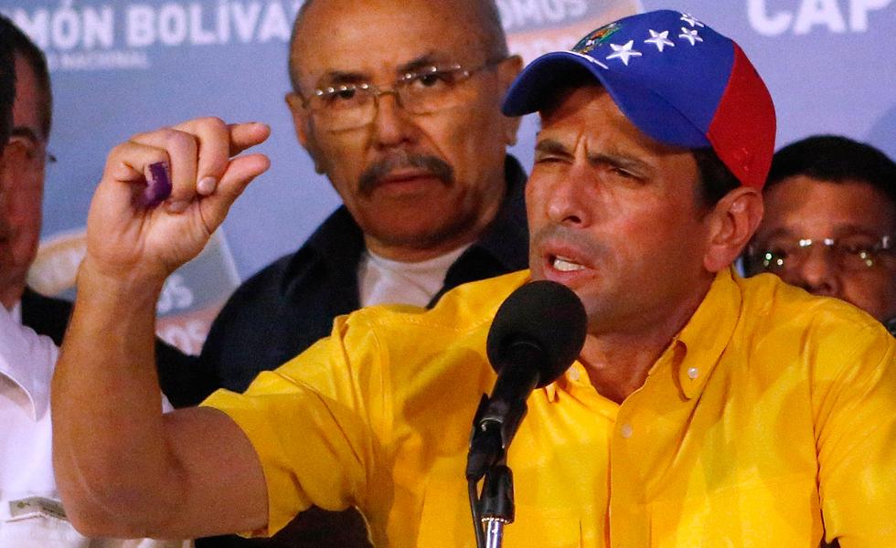 Capriles: No vamos a reconocer ningún resultado hasta no contar cada voto