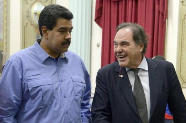 000 Mvd6581383 - Así defendió el cineasta Oliver Stone los regímenes de Maduro, Castro y Ortega