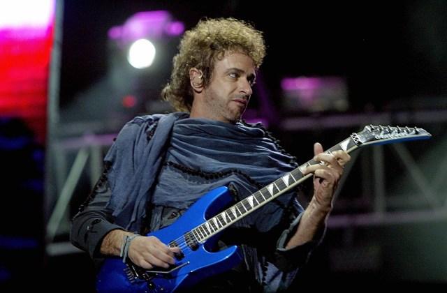 Gustavo Cerati of Argentina's rock group