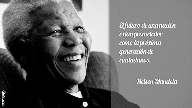 Frases Célebres De Nelson Mandela Lapatillacom