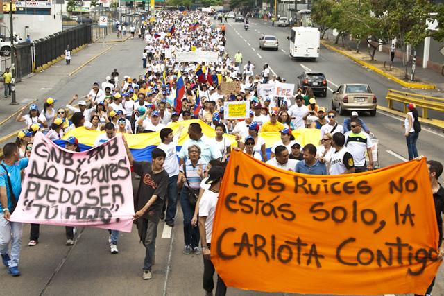 Movilización Pacífica Los Ruices 09 mar 2014 (3)