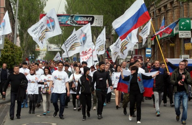 UKRAINE-RUSSIA-CRISIS-POLITICS-MAY1-PROTEST