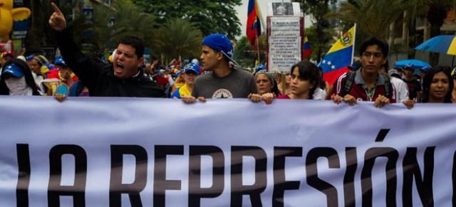 MANIFESTACIÓN EN CONTRA DEL GOBIERNO DEL PRESIDENTE MADURO EN CARACAS