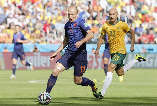 Robben gol Holanda