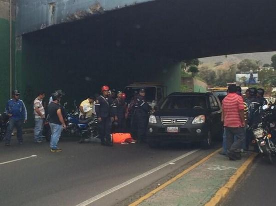 accidente con motorizado