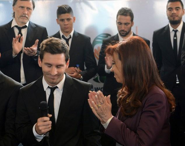 Messi habla sobre la derrota ante Alemania. Foto Reuters