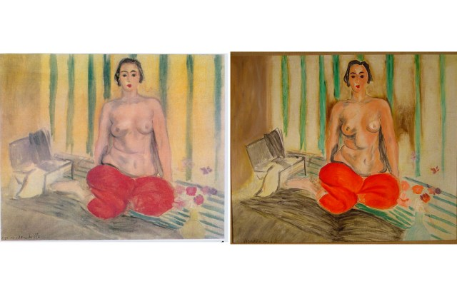 Odalisque In Pants