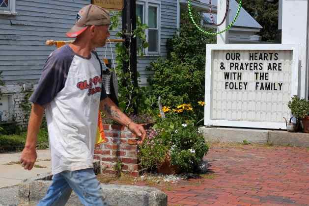 Los familiares de Foley viven en New Hampshire  (Foto Reuters)