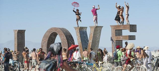 Burning Man Love