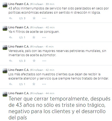 LinoFayen tuits 03 de agosto 2014