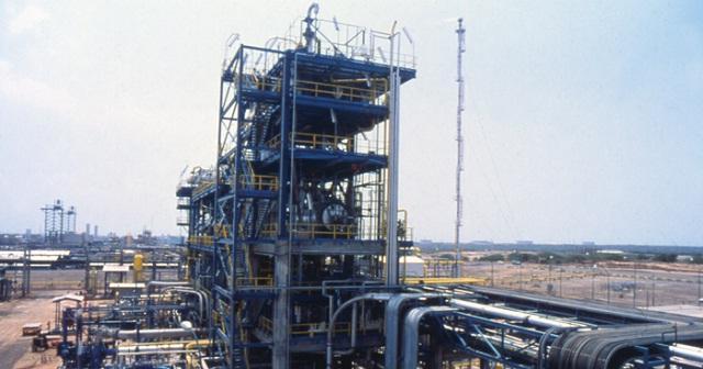 Propilven, planta de polipropileno en El Tablazo, estado Zulia / Foto Inelectra