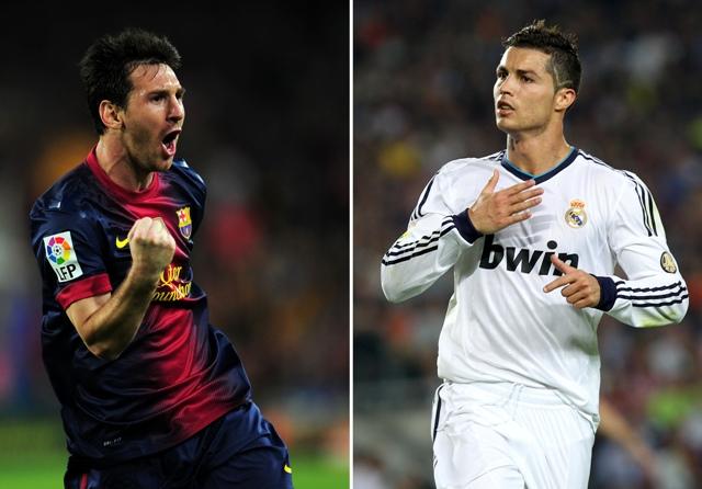 Foto: Leonel Messi y Cristiano Ronaldo / AFP