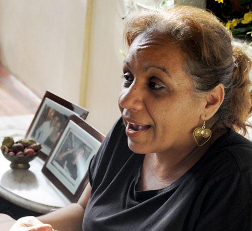 Foto El Carabobeño/ Yamileth Saleh, madre de Lorent Saleh