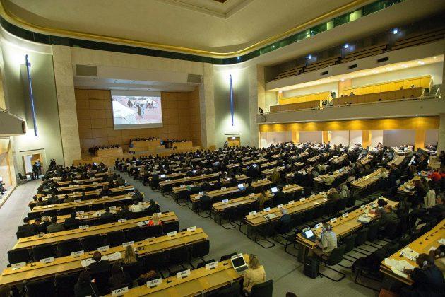 Sede de la ONU en Ginebra, Suiza (Foto archivo EFE)