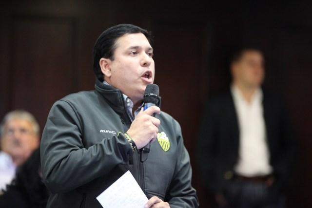 Foto: Abelardo Díaz, parlamentario por el  estado Táchira