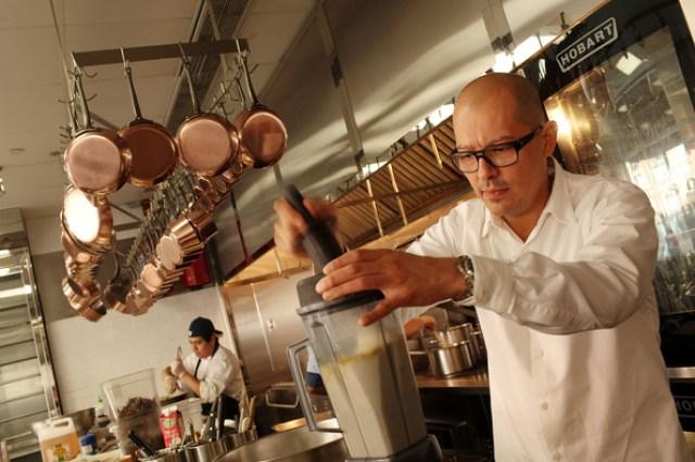 César Ramírez, responsable del restaurante de tres estrellas Michelín Chef's Table at Brooklyn Fare