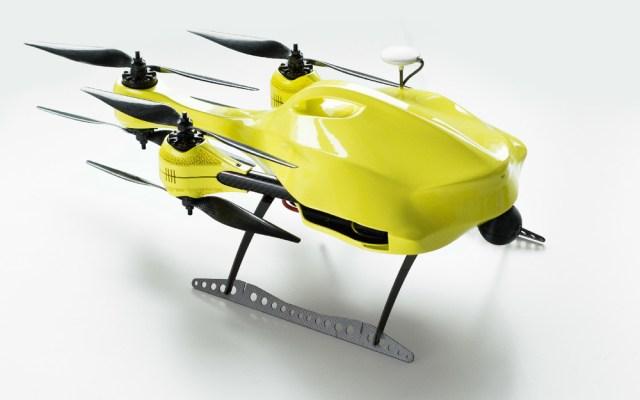 Foto: Ambulancia Drone /  omicrono.com