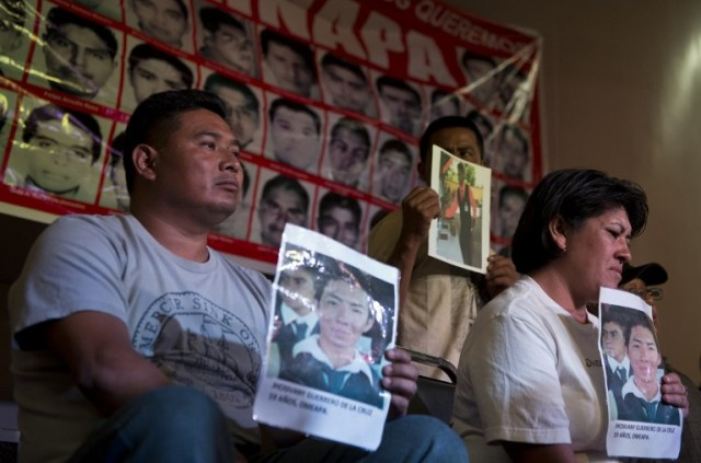 MEXICO-CRIME-STUDENTS-MISSING-RELATIVES