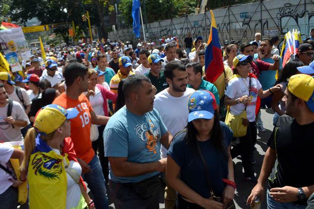 Henrique Capriles-marcha24Enero (7)