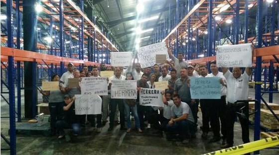 Trabajadores de Hermanos Herrera /Créditos: @hernancillo2012