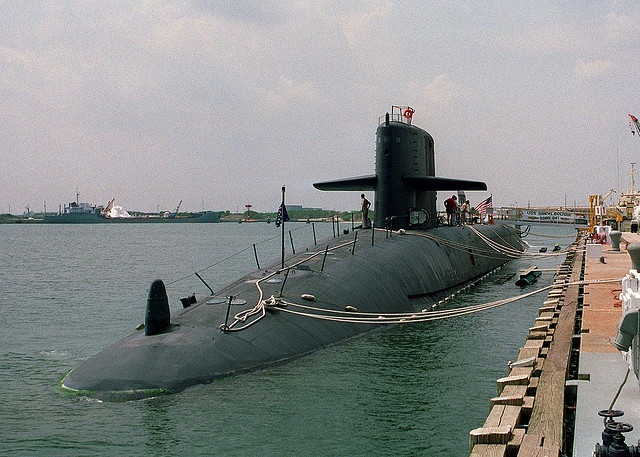 Submarino SimonBolivar SSBN641 EEUU en 1993 Foto / Flickr Smokerider Bill