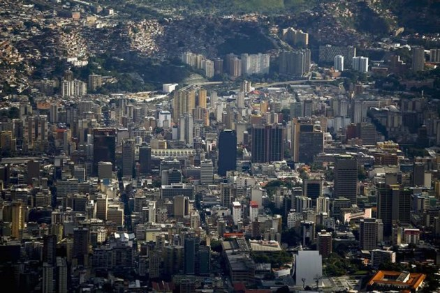 Imagen de la ciudad de Caracas, Venezuela. REUTERS