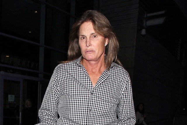 Bruce Jenner seen arriving at Elton John concert at STAPLES Center in Los Angeles