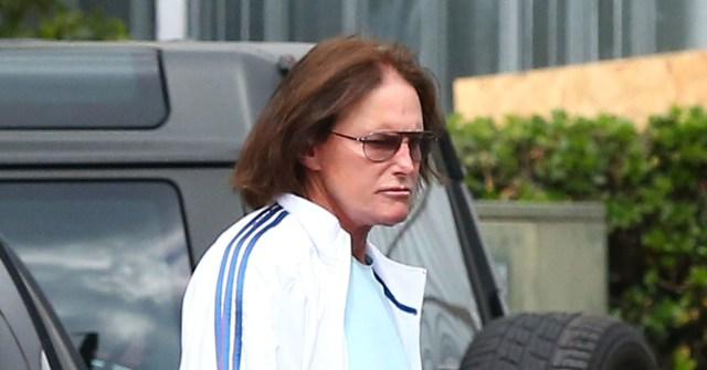 Kris & Bruce Jenner Arrive At A Meeting In Sherman Oaks