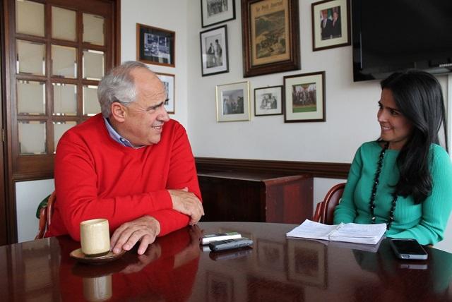 Ernesto Samper y Claudia Palacios / Foto El Pueblo