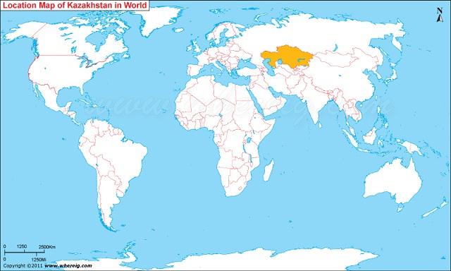 KazajistanMapWorld