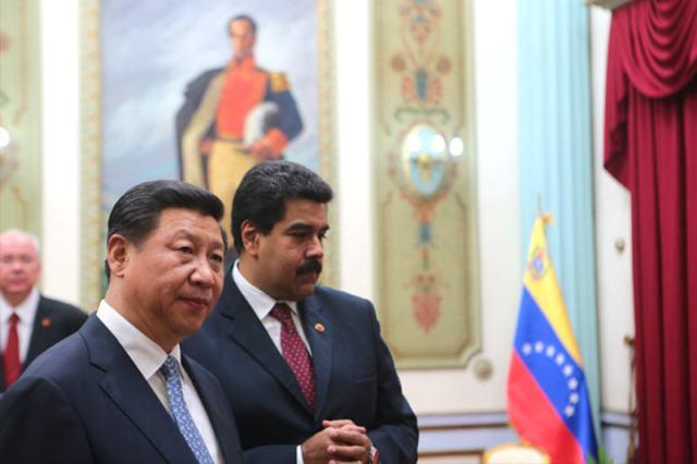 Maduro y pdte China