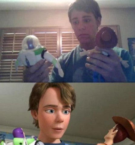 Andy, Toy Story.