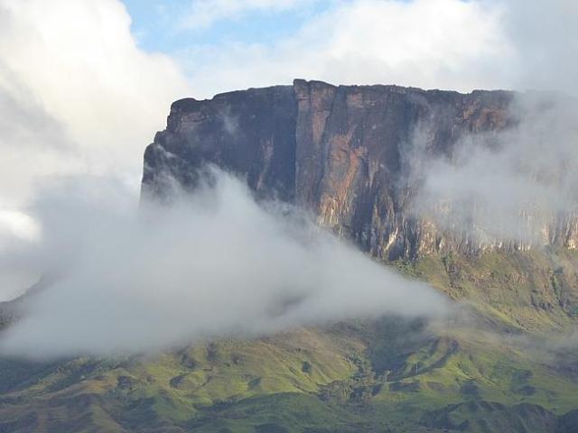 El Roraima es definitivamente una montaña imponente / Foto W. Hatton
