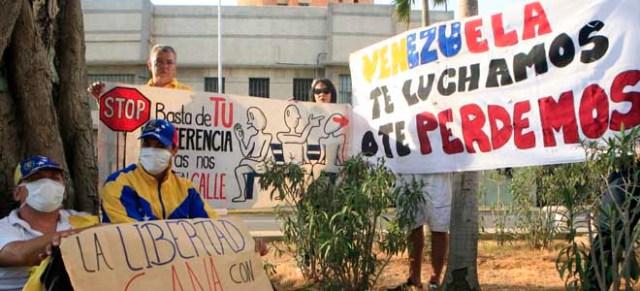 APPprotestaHuelgaHambre