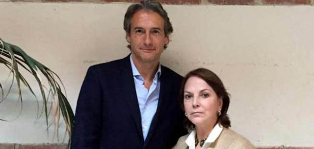 Mitzy Capriles de Ledezma junto a Íñigo de la Serna, presidente FEMP