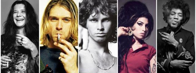 """kurt cobain muerte 27 anos club de los 27 - Realizan nuevas canciones de Nirvana y otros artistas del """"Club de los 27"""" con inteligencia artificial"""