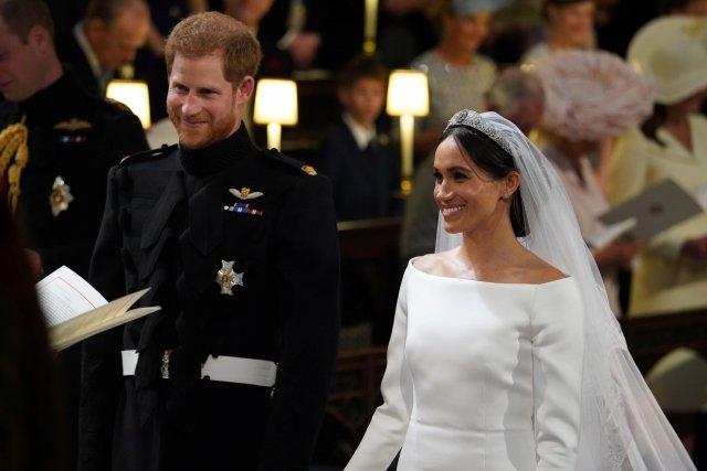 """2018 05 19T113049Z 1228088571 RC155928AD60 RTRMADP 3 BRITAIN ROYALS - Certificado de matrimonio de Meghan y Harry los contradice sobre su """"boda secreta"""""""