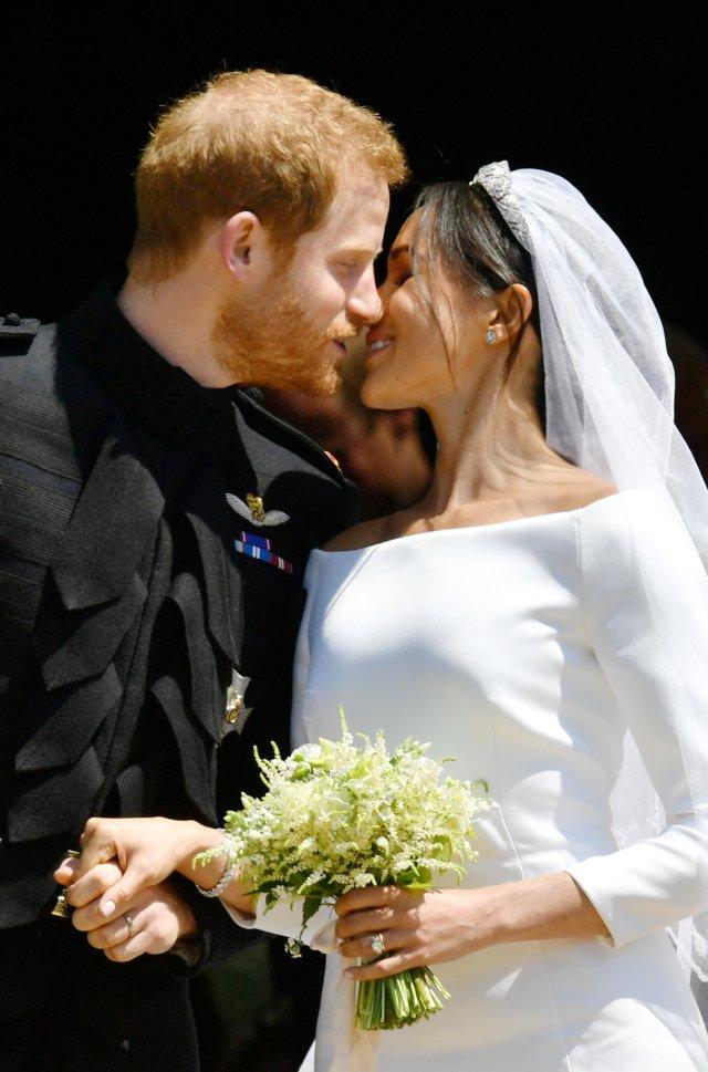 """2018 05 19T121807Z 967700910 RC1E334E0C60 RTRMADP 3 BRITAIN ROYALS - Certificado de matrimonio de Meghan y Harry los contradice sobre su """"boda secreta"""""""