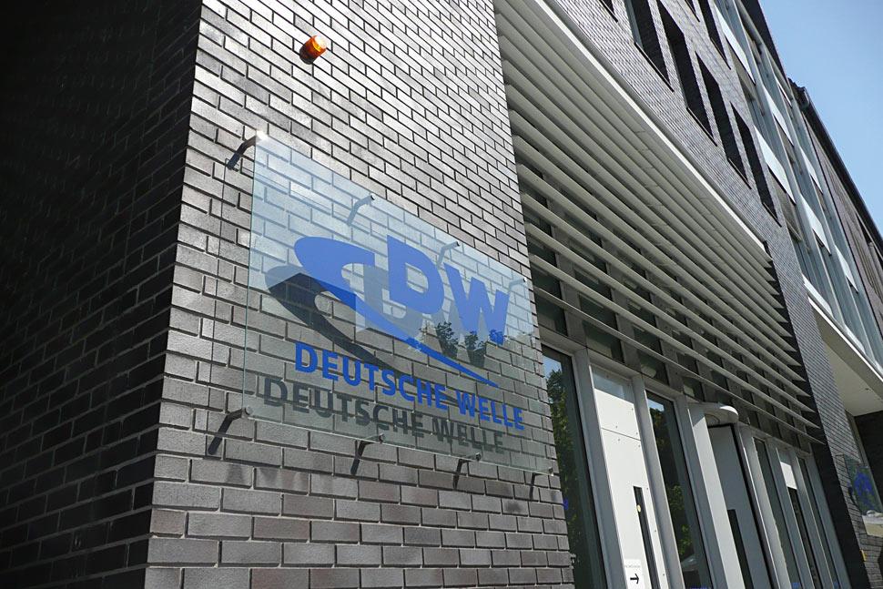 Fachada de Deutsche Welle en Alemania