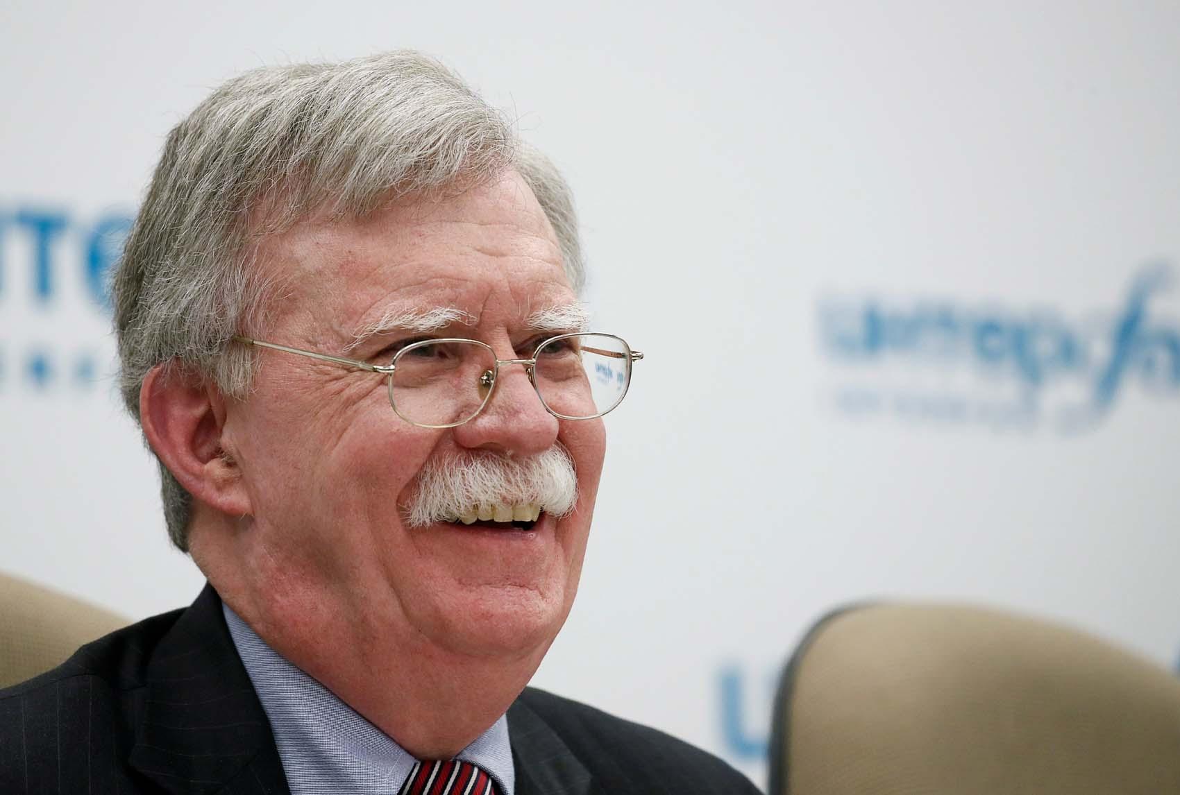 El asesor de seguridad nacional de Estados Unidos John Bolton. REUTERS  Maxim Shemetov