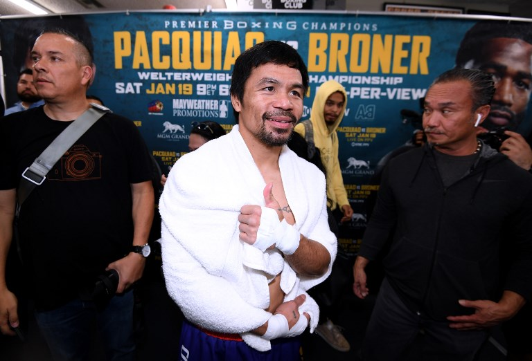 Manny Pacquiao descartó revancha con Floyd Mayweather