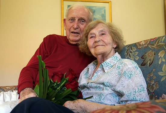 Norma June Platell y Francis Ernest