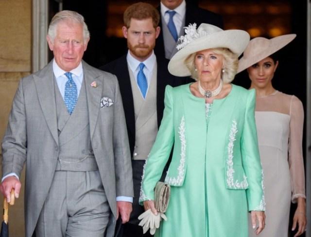 Principe Carlos Camila Harry y Meghan - Harry contó por qué se sintió defraudado de su padre, el príncipe Carlos