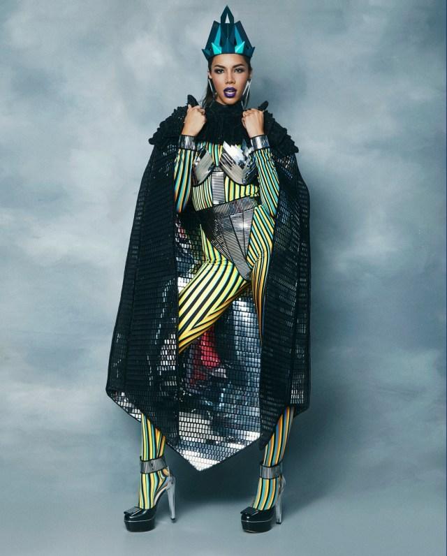 missvenezuela 79603546 2521396661475115 7027660984216535106 n - Carlos Cruz Diez, la inspiración del traje típico que lucirá Thalía Ospino en el Miss Universo (VIDEO)