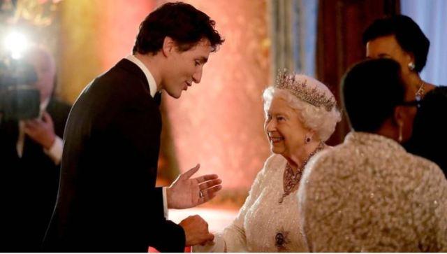 Justin Trudeau - La polémica oferta de Justin Trudeau a la reina Isabel II si Harry y Meghan se mudan a Canadá - #Noticias