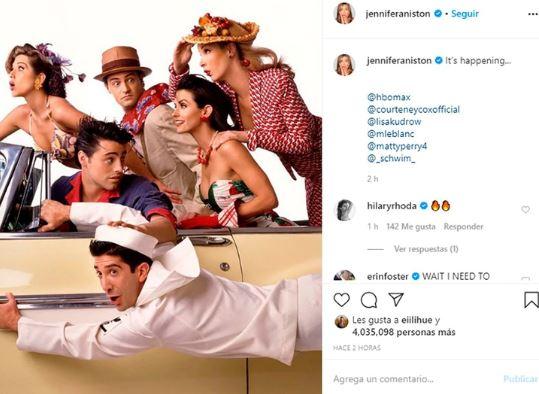 """JENNIFER ANISTON - El multimillonario negocio detrás del regreso de """"Friends"""" - #Noticias"""